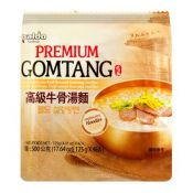 Premium Gomtang Noodles 4.41oz(125g) 4 Packs