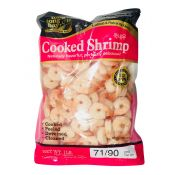 Frozen Cooked Shrimp 71/90 1lb(454g)