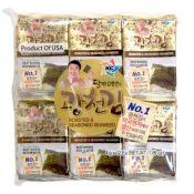 Roasted & Seasoned Seaweed 0.14oz(4g) 12 Packs