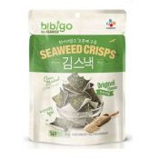 Bibigo Oven Baked Brown Rice Seaweed Crisps Original Flavor 0.70oz(20g)