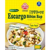 Frozen Cooked Rice Escargo Bibim Bap Soybean Flavor 15.87oz(450g)