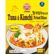 Frozen Cooked Rice Tuna & Kimchi Fried Rice with Mozzarella 15.87oz(450g)