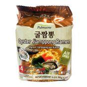 Oyster Jjamppong Ramen 3.49oz(99g) 4 Packs