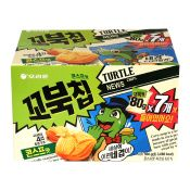 Turtle Chips Cornsoup Multi Pack Box 19.75lb(560g) (80g X 7ea)