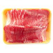 Frozen Pork Thin Sliced Single Rib Belly (3mm) 5lb(2.26kg)