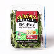 50/50 Blend (Baby Spinach/Spring Mix) 5oz(142g)