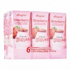 Strawberry Flavored Milk Drink, 6 Packs