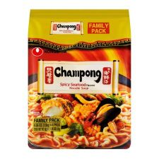 Champong Noodle Soup 4.58oz(130g) 4 Packs