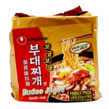 Budae Jjigae Noodle Soup 4.48oz(127g) 4 Packs
