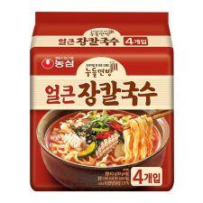Jang Kal Guk Su Spicy Flavor 4.06oz(115g) 4 Packs