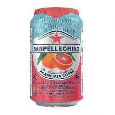 Sparkling Beverage Aranciata Rossa Blood Orange 11.15oz(330ml)
