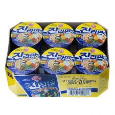 Jin Ramen Cup Mild Flavor 2.3oz(65g) 6 Cups
