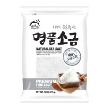 100% Natural Sea Salt (Premium Fine Salt) 5lb(2.27kg)