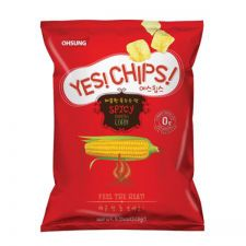 Yes! Chips! Spicy Corn Crisps 5.11oz(145g)