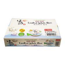 Cooked White Rice Premium 7.4oz(210g) 12 Packs