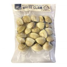 Cooked White Clam 1lb(454g)