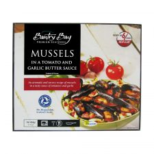 Mussels in Tomato and Garlic Butter Sauce 1lb(454g)
