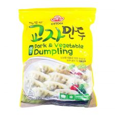 Ottogi Pork Vegetable Dumpling 24oz(680g),오뚜기 통통한 교자만두 24oz(680g)