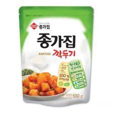 Sliced Radish Kimchi 17.6oz(500g)