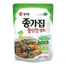 Pickled Mustard Leaves and Stems Kimchi (Dolsan Kat Kimchi) 17.6oz(500g)