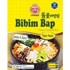 Frozen Cooked Rice Bibim Bap Smoky & Spicy 15.87oz(450g)