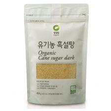 Organic Cane Sugar Dark 1lb(454g)