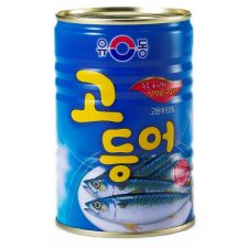 Canned Mackerel 14.1oz(400g)