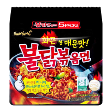Hot Chicken Flavor Ramen 4.94oz(140g) 5 Packs