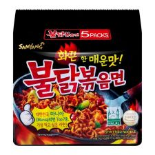 Hot Chicken Flavor Ramen 4.94oz(140g) 5 Packs