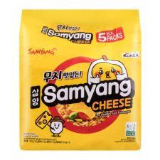 Samyang Ramen Cheese 4.23oz(120g) 5 Packs