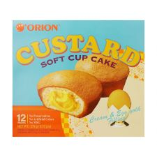 Custard 9.73oz(23g) 12 Packs