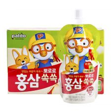 Ginseng Pororo Apple 3.38oz(100ml) 10 Pouches