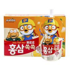 Ginseng Pororo Orange 3.38 fl.oz(100ml) 10 Pouches