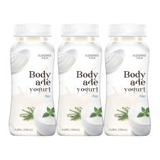 Body Ade Yogurt Drink Plain 6.59oz(195ml) 3 Packs