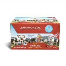 Single-Serve Whole Milk, 12 Packs