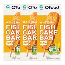 Fish Cake Bar Sweet Corn 2.8oz(80g) 3 Packs