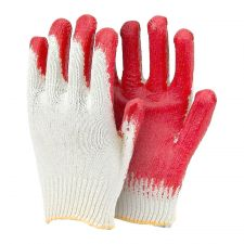 Coating Gloves Red 10 Pairs
