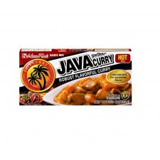 Java Curry Sauce Mix Hot 6.52oz(185g)