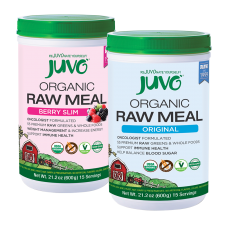JUVO Organic Raw Meal Original + Berry Slim (Set of 2)