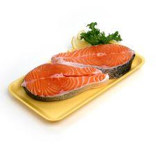 Farm-Raised Salmon Steak 12oz(340g) 1 Pc
