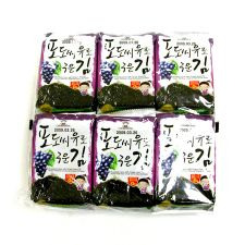 Roasted Laver with Grape Seed Oil - 12packs