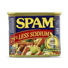 Spam 25% Less Sodium 12oz(340g)