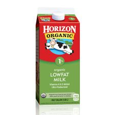 Organic 1% Lowfat Milk