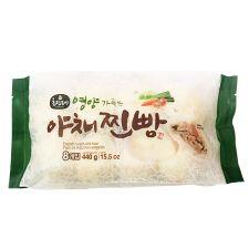Frozen Vegetable Bun 15.5oz(440g) 8 Pcs