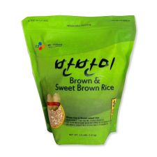 Brown Rice & Brown Sweet Rice (Barn Barn Mee) 3.5lb(1.6kg)