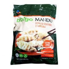 Pork Vegetable Extra Large Dumpling 32oz(907g)