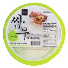 Pickled Radish Wrap Japanese Horseradish Flavor 12.34oz (350g)