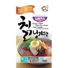 Korean Style Premium Fresh Cold Noodles with Arrow Root 2.2lb(1kg)