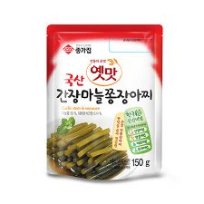 Chongga Garlic Stem in Soy Sauce 5.3oz (150g)