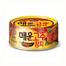 Tuna with Double Hot Pepper Sauce 5.29oz(150g) 1 Can